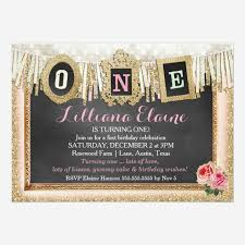 collections of chic 1st birthday party invitations babyfavors4u com