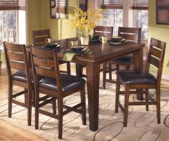 Pedestal Dining Table With Butterfly Leaf Extension Wooden Single Pedestal With Butterfly Leaf Chrome Sheen And Glass
