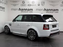land rover autobiography white used land rover range rover sport 3 0 sd v6 autobiography sport