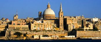 Google Map Of Europe by Google Map Of The City Of Valletta Malta Nations Online Project