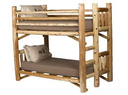 Log Cabin Bedroom Furniture by Rustic Indoor Log Furniture