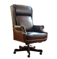 Leather Office Chair Donovan Leather Office Chair By Havertys Furniture Ebth