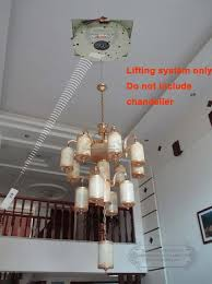 Chandelier Winch 100kg 5m Auto Remote Lighting Lifter Chandelier Hoist