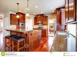modern kitchen designs with oak cabinets modern kitchen room with oak cabinets stock image image of