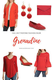 pantone 2017 colors lexi and ladyfall 2017 pantone fashion color grenadine