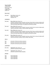 Resume Template Google Drive 100 Free Resume Templates Google What To Look For In A Free