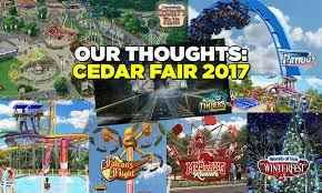 cedar fair parks map our thoughts on cedar fair s 2017 announcements coaster101