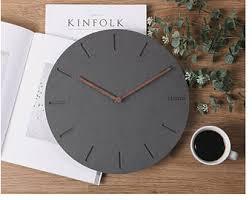 Scandinavian Wall Clock Modern Clock Etsy
