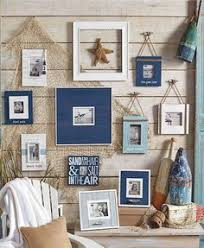 Coastal Homes Decor I Like The Rustic Look But This Is Cute For Like A Beach House