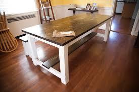 48 sofa table solid wood farmhouse sofa table