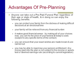 funeral pre planning planning a funeral presented by name of funeral home ppt