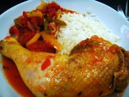cuisine poulet basquaise une once de gourmandise poulet basquaise au multicuiseur un