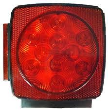 blazer led trailer lights blazer square led combo stop tail turn trailer light kit