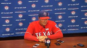 Jordan Banister Rangers Jeff Banister Defends Odor Pitcher Mlb Com
