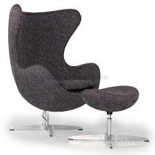 egg chair u0026 ottoman amethyst retrospeck twill fabric project