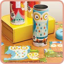 owl tin canister puzzle peanut u0026 pip
