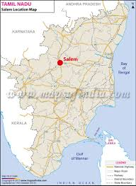 India World Map by Salem Location Map Where Is Salem
