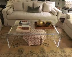 making your lucite coffee table shiny jenisemay com house