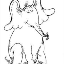 horton elephant coloring archives mente beta complete