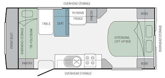 Jayco Caravan Floor Plans Jayco Journey Poptop 17 55 5 Eastern Caravans
