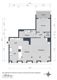 Minimalist Floor Plan Apartments Minimalist Scandinavian Design Apartment Floorplan For