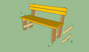 Free Wood Glider Bench Plans by Free Garden Bench Plans Howtospecialist How To Build Step By
