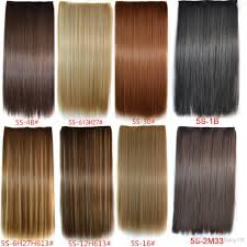 one clip in hair extensions 5 in hair extension high temperature hair synthetic hair