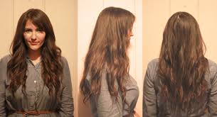 22 inch hair extensions before and after hair tutorial diy clip in hair extensions