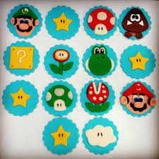 mario cake toppers mario cupcake toppers 24 mario cupcake ring party favor