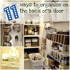 74 best organize using the backs of doors images on pinterest