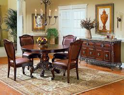 dining room attractive dining room design with dark brown round