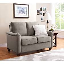 living room ls walmart better homes and gardens 52 grayson loveseat with nailheads grey