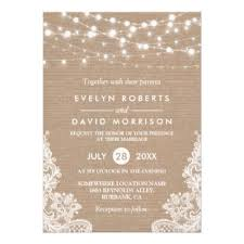 Burlap And Lace Wedding Invitations Burlap And Lace Wedding Invitations Up To 40 Off On Rustic