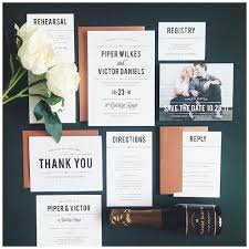 beautiful custom wedding invitation suites basic invite
