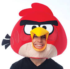 amazon com paper magic group angry birds red bird mask clothing