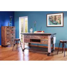 60 Inch Writing Desk by 60 Inch Rustic Multi Color Island Simply Woods Furniture