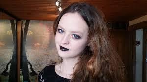 maquillage gothique homme 7 maquillage style gothique romantique youtube