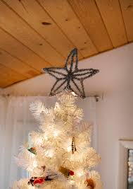 Homemade Christmas Tree by Easy Diy Christmas Tree Toppers U2013 A Beautiful Mess