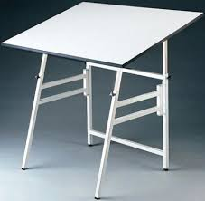 Drafting Drawing Table Alvin Model Xii 3 Xb Professional Drafting Table Warp Free White