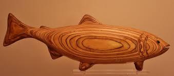wooden salmon raincoast shop