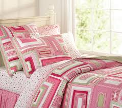 Girls Quilted Bedding by Katie Patchwork Quilted Bedding Pottery Barn Kids
