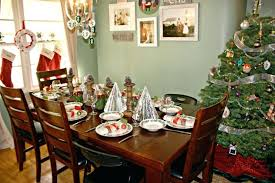 christmas dinner table centerpieces dining room christmas dining room savvy southern style table