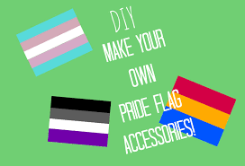 Customize Your Own Flag Diy Pride Flags Projects Make Necklaces Pins Magnets And More