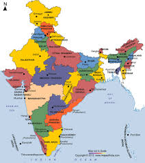 Map Of States With Capitals by General Awareness List Of Indian States Capitals And Chief