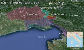 Map Of Croatia And Italy by Map Italian Wine Regions U2014 Tenzing