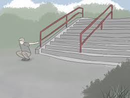 Leg Pain Going Down Stairs by How To Jump Down Stairs In Parkour 12 Steps With Pictures
