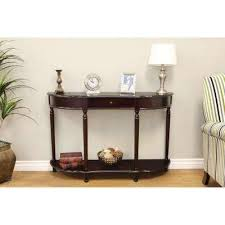Console Tables Cheap Wood Accent Tables Living Room Furniture The Home Depot