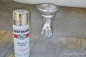 How To Spray Metallic Paint - how to refinish an antique claw foot tub check out my new tub