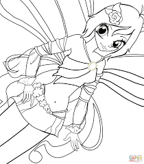 winx club tecna coloring pages free coloring pages