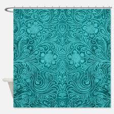 Turquoise Shower Curtains Turquoise Shower Curtains Cafepress